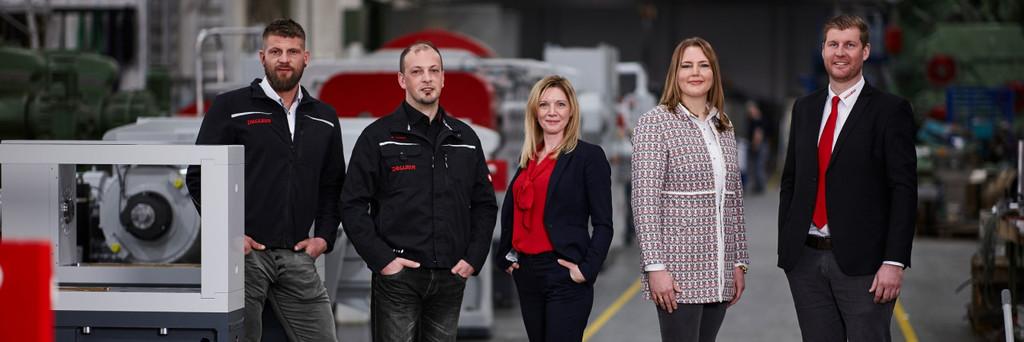 Das Team der DEGUMA-SCHÜTZ GmbH setzt auf die neuesten Technologien.