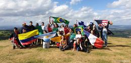 Internationales Flair: 24 Jugendliche bei Sprachcamp in Rodholz