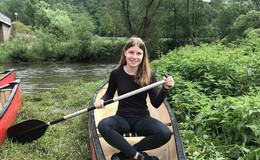 Sport auf dem wilden Wasser – Hannah fährt zu  den Deutschen Meisterschaften im Kanusport