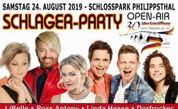 SCHLAGER-PARTY: Open-Air-Event 2019 anlässlich 30 Jahre Grenzöffnung