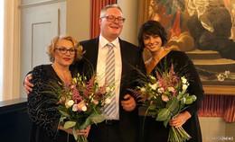 Großer Bahnhof für zweifache Oscarpreisträgerin Luise Rainer