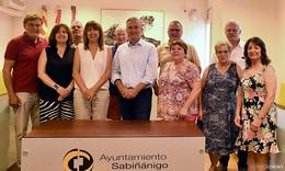 Petersberger Delegation besucht Partnerstadt Sabinanigo in Spanien