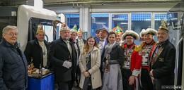 Hoher Besuch bei der Firma Paul Himmelmann: Prinz Markus und Gouverneurin Kerstin