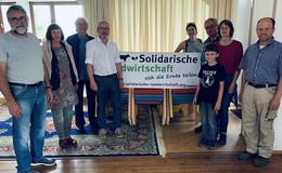Markus Hofmann (MdL) bei Feldrundgang der Solawi Osthessen