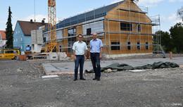 Wohn- und Gesundheitszentrum: Volksbank eG ist neuer Investor nach Baustopp