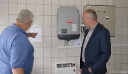 Alternative Energie: Photovoltaik-Anlagen für Ulrichsteiner Kläranlagen