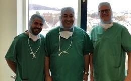 Israelischer Professor für Wirbelsäulenchirurgie zu Gast