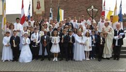 Frohe Erstkommunion in St. Elisabeth in Kesselstadt