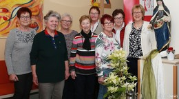 Frauengruppe Löschenrod spendet dem Hospiz St. Elisabeth 1.212 Euro