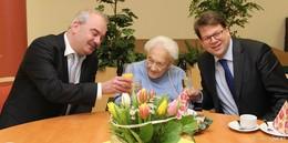 Frohes Fest im St. Josefsheim: Margarete Ringwald wurde 106 Jahre alt