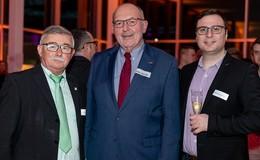 Einstein und Föllsch Foll: Neujahrsempfang der edu-technik solutions GmbH