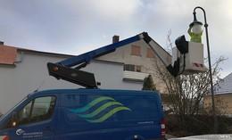 Umrüstung von Straßenleuchten auf LED-Technik