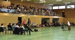 125 neue Schüler an der Konrad-Adenauer-Schule begrüßt