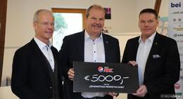 Erneut großer Erfolg: Heurich überreicht 5.000 Euro an Perspektiva