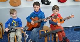 Großer Andrang bei dem Tag der offenen Tür an der Musikschule Mollenhauer