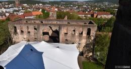 Neues Zeltdach - ein großzügiges Geschenk für die Hersfelder Freiheit