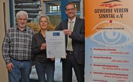 """Sinntal ist erneut """"Ausgezeichneter Wohnort für Fachkräfte"""""""