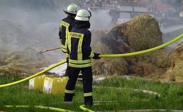 Unterstand brennt erneut: Brandstiftung? Kripo ermittelt