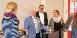 Erfülltes Berufsleben: Langjähriger Lehrer Reinhold Feldmann verabschiedet