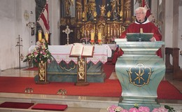 Festgottesdienst mit Pater Max Rademacher vom Kloster Frauenberg